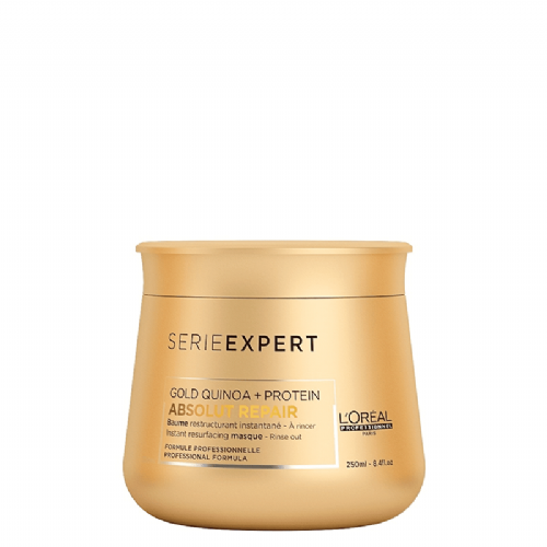 Loreal Serie Expert  Mascarilla Instantanea Gold Quinoa Absolut Repair  250 ml